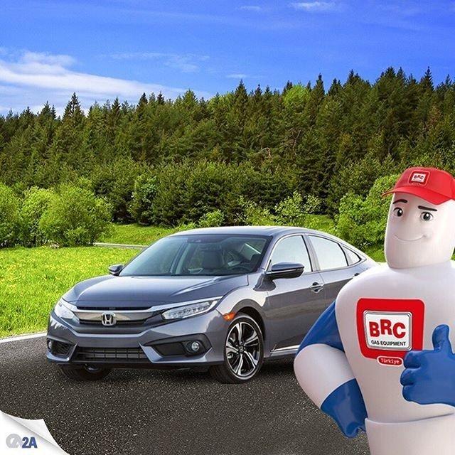Dünyanın en iyi otomobil markalarından Honda'da enerji tasarrufu için BRC'yi tercih ediyor. #EnerjiTasarrufuGünü #BRCyegel