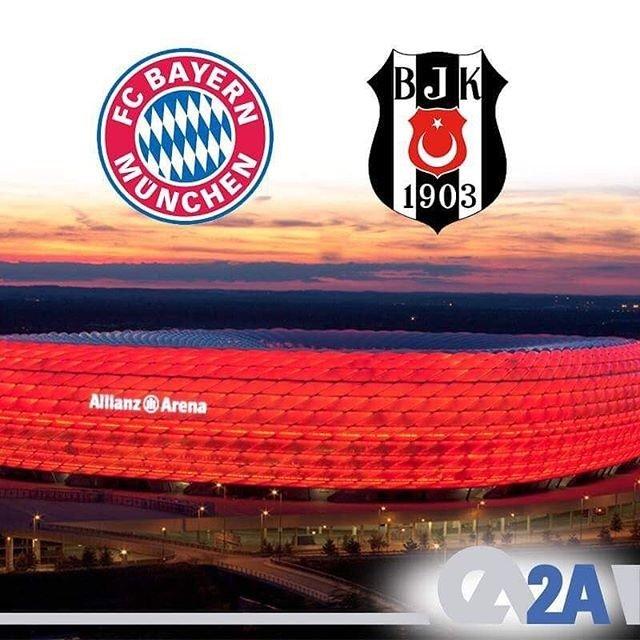 2A Mühendislik olarak Şampiyonlar Ligi'nde ülkemizi temsil eden Beşiktaş'a, yarın Almanya'da Bayern Munich karşılaşmasında başarılar dileriz.