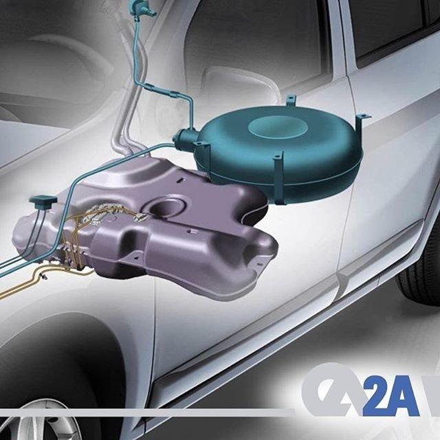 Simit ya da silindir şeklinde imal edilen LPG tankları benzin depolarına göre 6 kat daha kalındır. Bu nedenle LPG tankları darbelere karşı daha dayanıklıdır.  #BRC #GFI #Otogaz #LPG