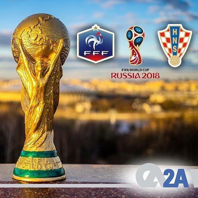 Dünya Kupası'nda adını finale yazdıran takımlar belli oldu. Pazar günü Kupa sahibini bulacak. Peki senin favorin hangi takım? #DünyaKupası2018 #DünyaKupası #Final #Fransa #Hırvatistan