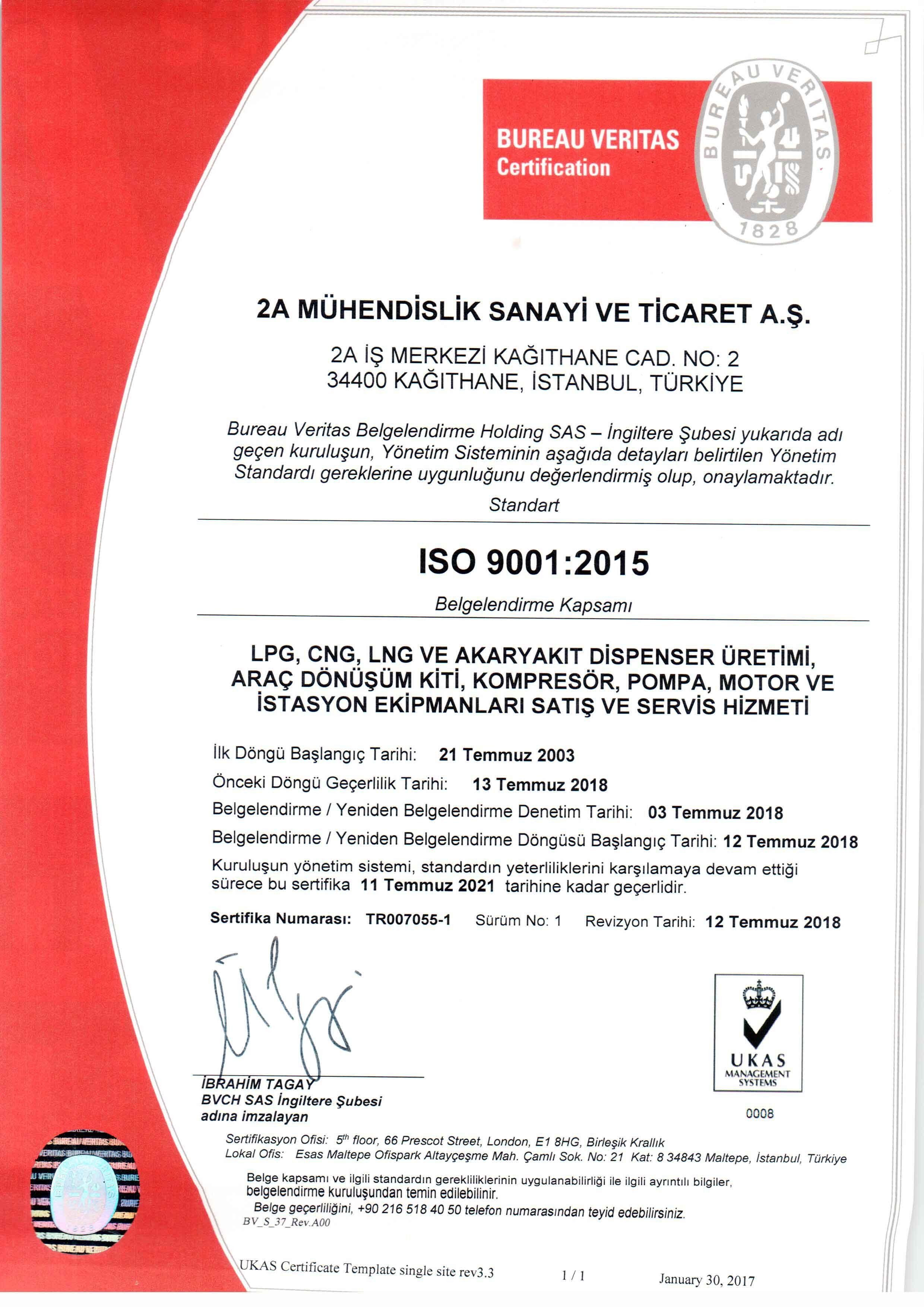 ISO 9001:2015 TR
