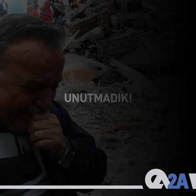 """""""Sesimi duyan var mı?"""" haykırışlarını unutmadık. Marmara Depremi'nde yaşamını yitiren vatandaşlarımızı rahmetle anıyoruz. #17Ağustos1999"""