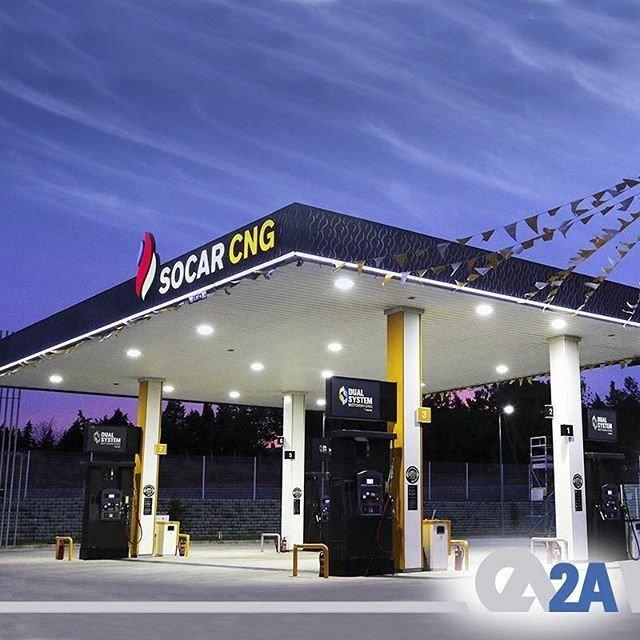 Türkiye'de Mavi Hat Projesi çerçevesinde 14 istasyon ve 2 dolum tesisi kurulumunu üstlendik, 22 CNG kompresör sattık. #2AMühendislik #CNG #İstasyon #MaviHat #Socar