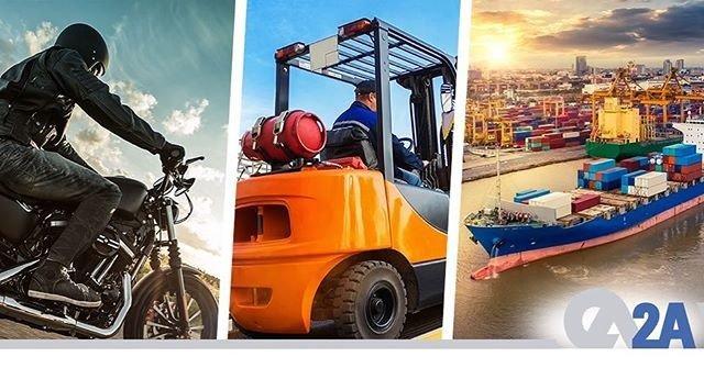 Otogazın dünyada binek otomobiller dışında, deniz araçları, forklift, motorsiklet gibi ulaşımda alternatif kullanım alanları da bulunmaktadır. #LPG #2AMühendislik