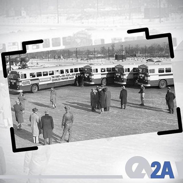 İlk LPG'li otobüsler ABD'de 1950 yılında Chicago Transit Authority tarafından kullanıldı. #2AMühendislik #OtogazHakkında #LPG #CNG #AlternatifYakıt