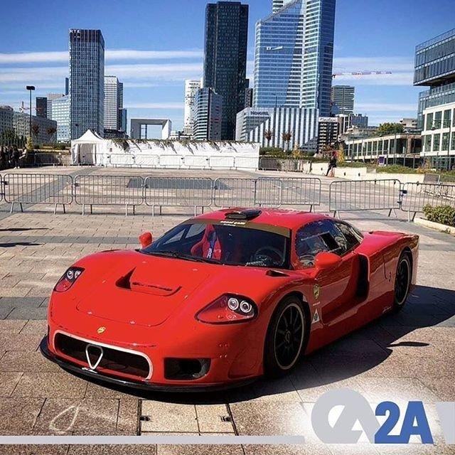 """503 beygir gücünde 4.7 litrelik Alfa Romeo V8 motoru ve mono-yakıtlı LPG sistemine sahip Tecno Montecarlo yarış arabası """"Nanni Galli"""" yalnızca otogaz ile çalışıyor. #LPG #Otogaz #SuperCar #TecnoMontecarlo #AlfaRomeo"""