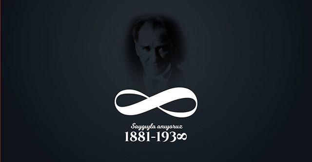 Ulu Önderimiz Mustafa Kemal Atatürk'ü özlem ve saygıyla anıyoruz. #10Kasım