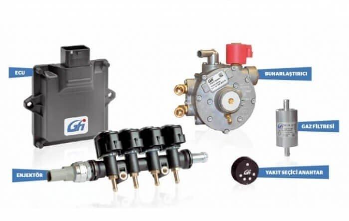 GFI Ez-Go LPG Sistemi