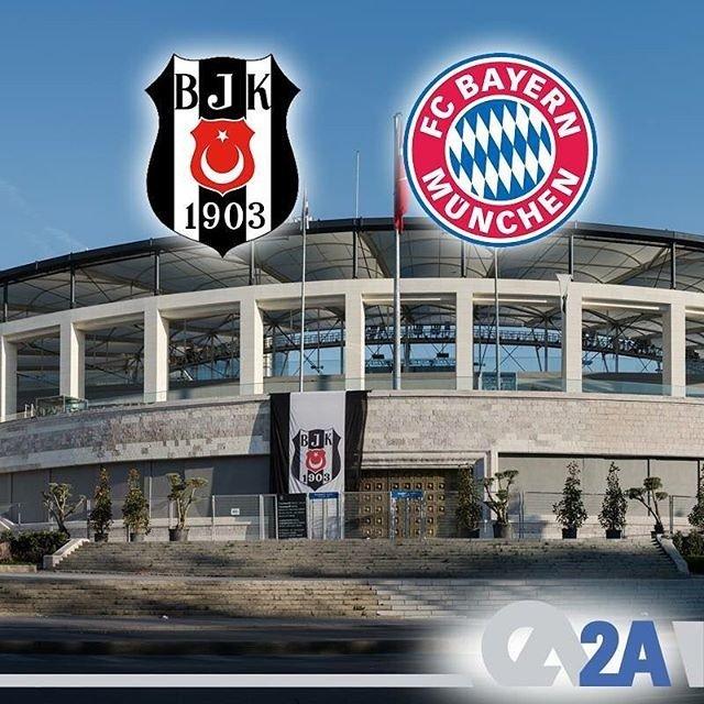 Şampiyonlar Ligi'nde ülkemizi temsil eden Beşiktaş, rövanş maçında bugün kendi sahasında Bayern Munich'i ağırlayacak. Beşiktaş'a başarılar dileriz.