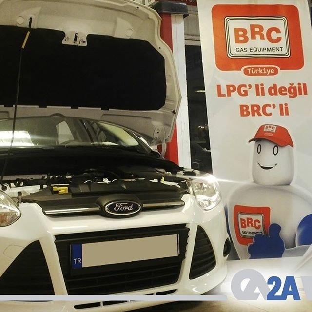 Ford Otosan ile yapılan işbirliği sayesinde 0 kilometre Ford araçlar artık yetkili servis çıkışlı BRC kit takılı olarak satılacak. #2AMühendislik #BRC #Ford